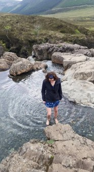 Dancing in the Fairy Pools